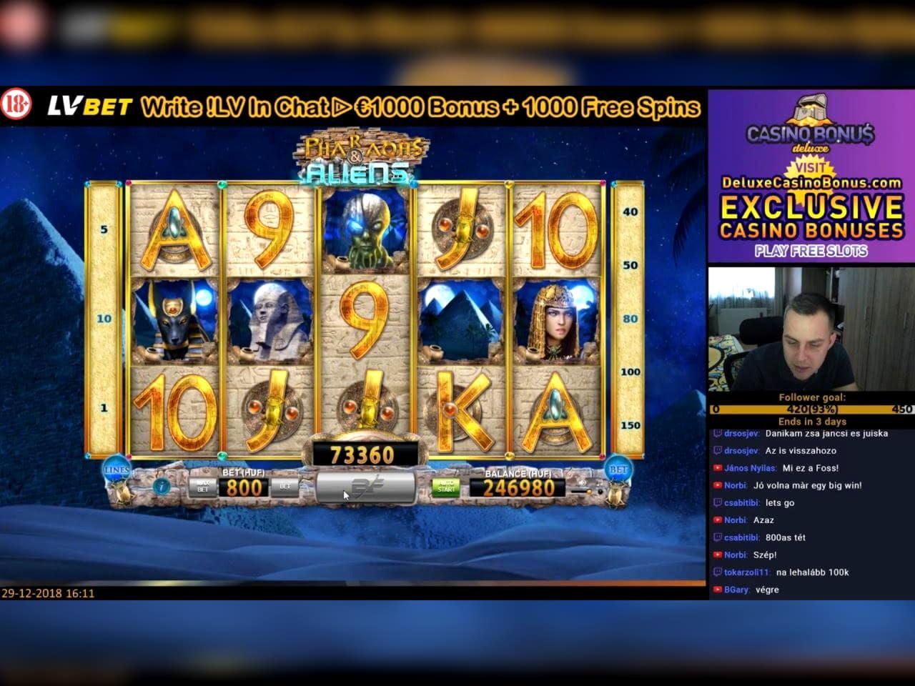 €3485 No deposit bonus casino at Malina Casino