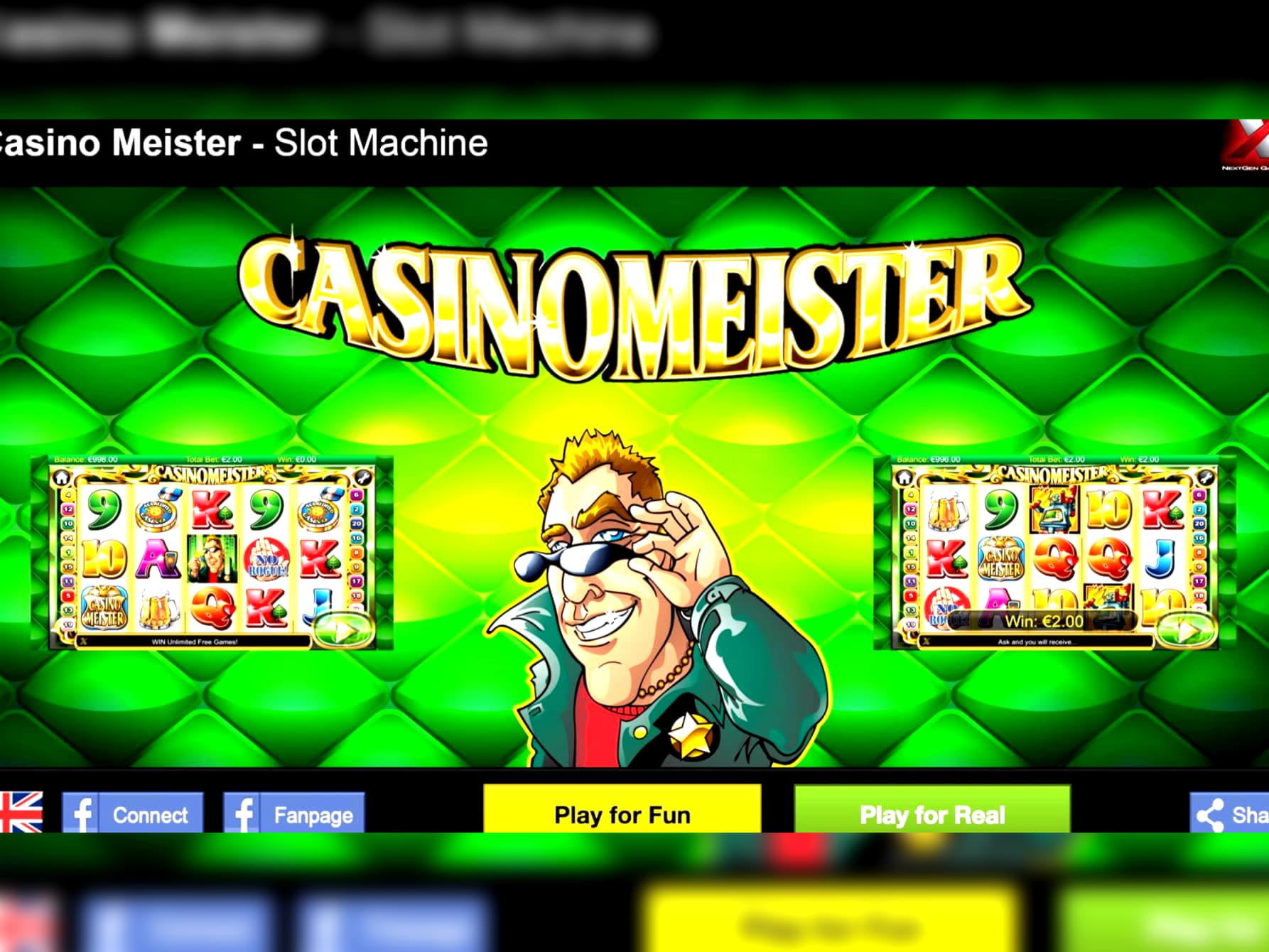44 free casino spins at bWin Casino