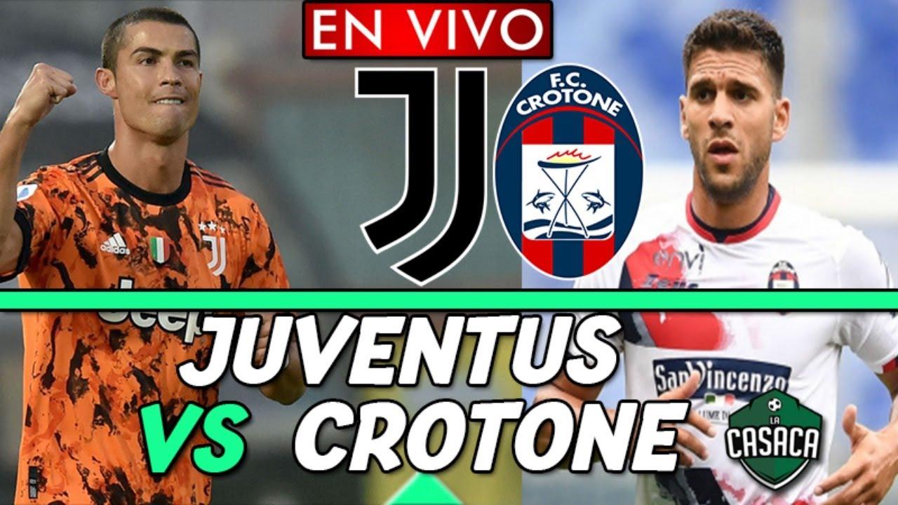 🚨 JUVENTUS vs CROTONE EN VIVO 🔴  SERIE A
