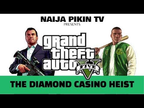 Grand Theft Auto 5   The Diamond Casino Heist (GAMEPLAY)   HD